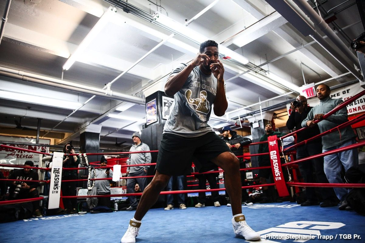 Dominic Breazeale Boxing News
