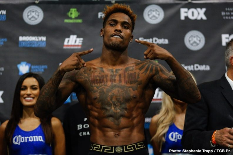 Carlos Negron Dominic Breazeale Jermall Charlo Jermell Charlo Matt Korobov Tony Harrison Boxing News Top Stories Boxing