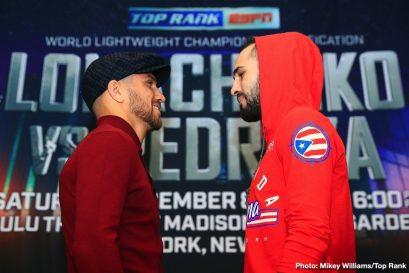 Emanuel Navarrete Isaac Dogboe Jose Pedraza Teofimo Lopez Vasyl Lomachenko Boxing News Top Stories Boxing