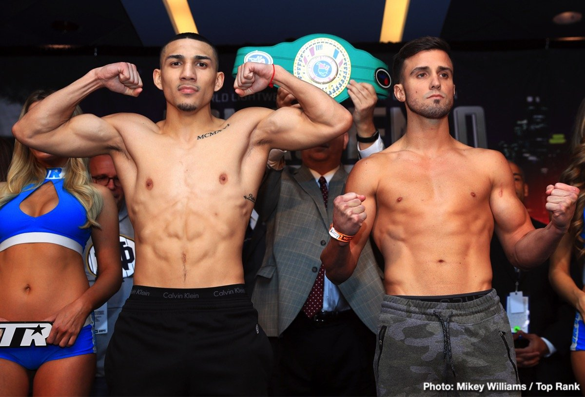 Teofimo Lopez - Boxing's top prospect and world ranked lightweight, Teofimo Lopez will be back in the spotlight when he takes on the battle-tested Mason Menard at The Hulu Theater at Madison Square Garden.
