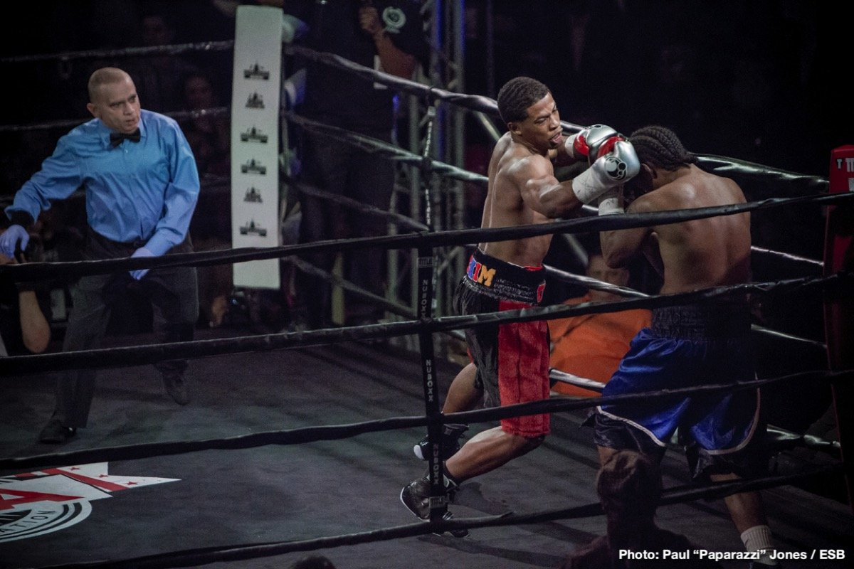 Demond Nicholson Greg Outlaw Boxing News Boxing Results Top Stories Boxing