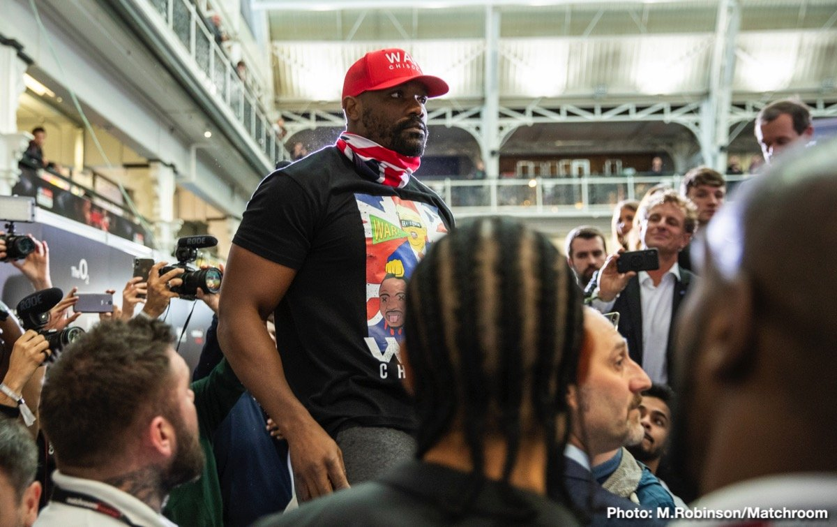 Dereck Chisora Dillian Whyte Boxing News British Boxing