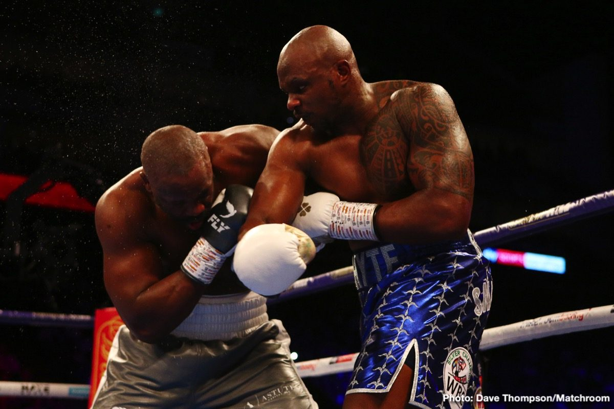 Anthony Joshua, Bob Arum, Dillian Whyte, Tyson Fury - The WBC could make Dillian Whyte their next email champion if he continues to pursue fighting WBC heavyweight champion Tyson Fury this year, according to Bob Arum.