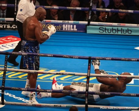 Anthony Joshua Dereck Chisora Dillian Whyte Boxing News British Boxing Top Stories Boxing