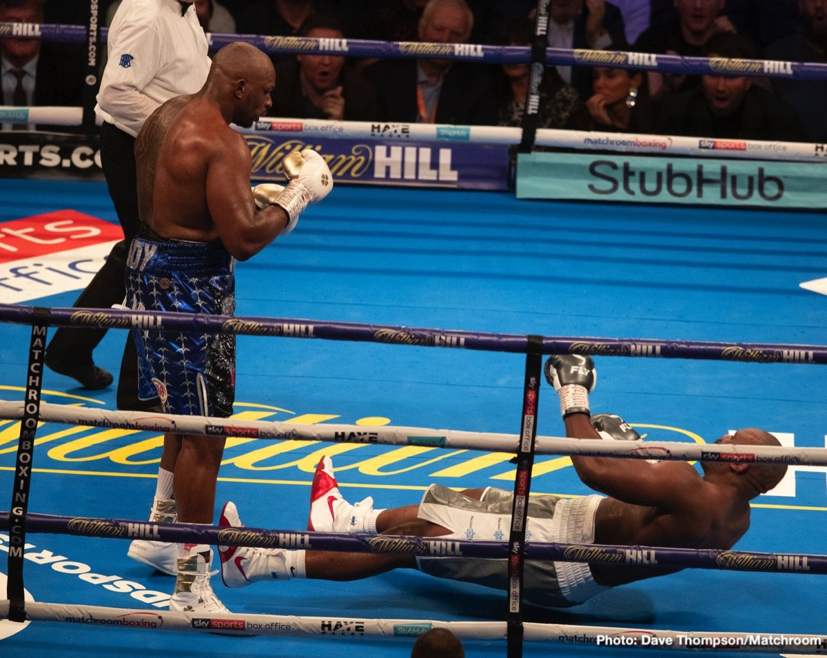 Dillian Whyte - All good things to those who wait. Even if hard working heavyweight contender Dillian Whyte has been forced to wait way too long, the once-beaten Brit is at last in line to get a shot at a world heavyweight title. This Saturday's fight with the unbeaten Oscar Rivas will be both a final eliminator for the WBC title, as well as the bout being for the interim WBC belt.