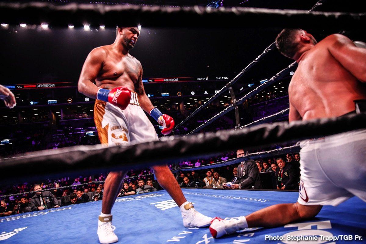 Deontay Wilder Dillian Whyte Dominic Breazeale Boxing News