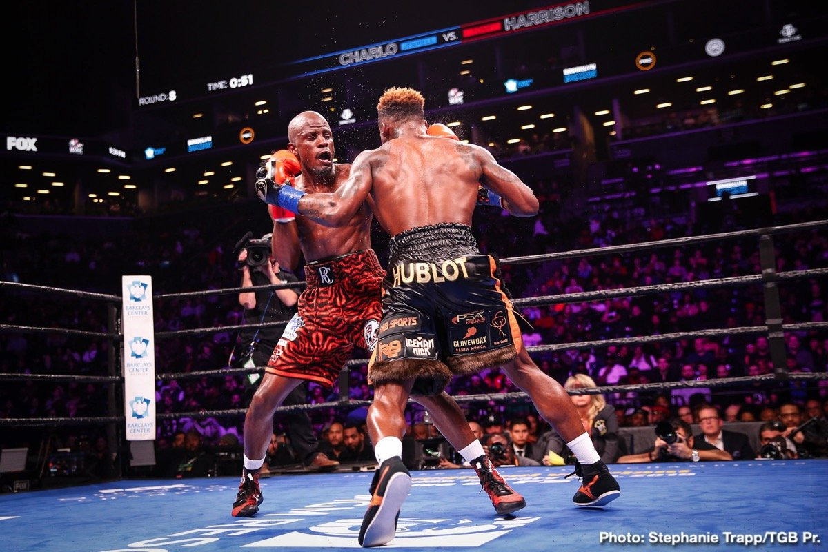Jermell Charlo Tony Harrison Boxing News Boxing Results Top Stories Boxing
