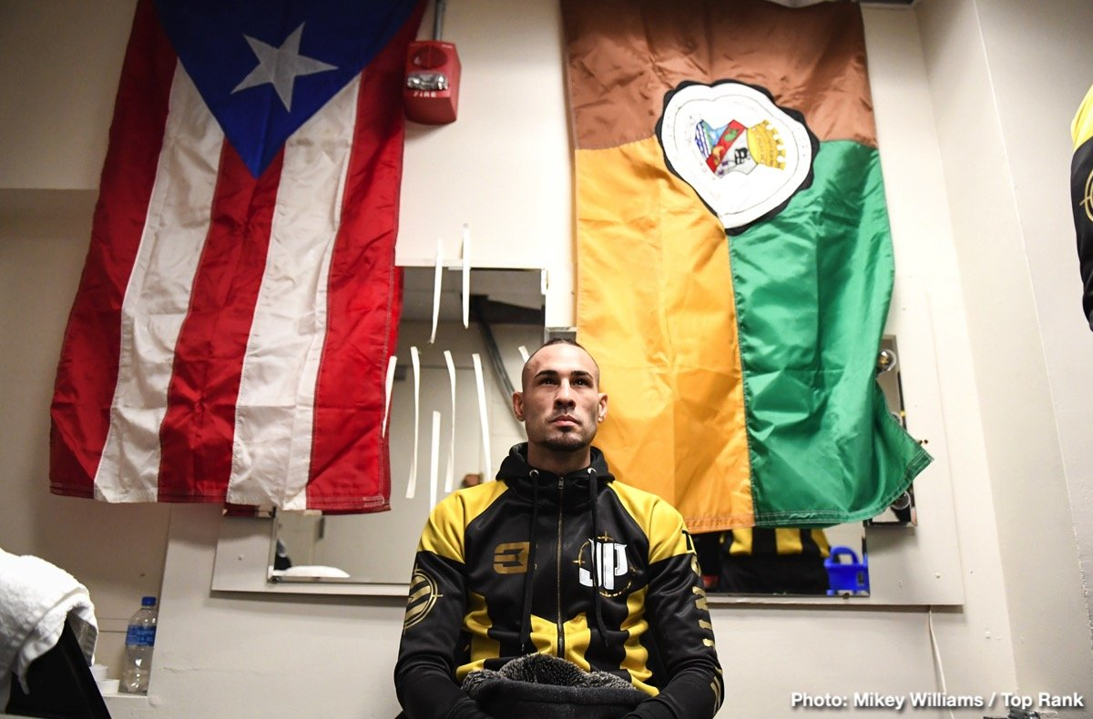 "Jose Pedraza - It is personal for former two-division world champion and current lightweight contender Jose ""Sniper"" Pedraza. His opponent May 25 at Osceola Heritage Park in Kissimmee, Florida, is Antonio Lozada Jr., who in March of last year knocked out then-undefeated Felix Verdejo in the 10th round. Verdejo and Pedraza both hail from Puerto Rico, and Pedraza, who is coming off a unanimous decision loss to Vasiliy Lomachenko, hopes to avenge his countryman's defeat."
