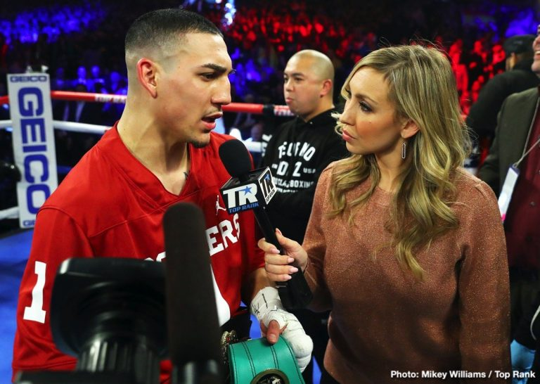 Emanuel Navarrete Isaac Dogboe Teofimo Lopez Boxing News Boxing Results Top Stories Boxing
