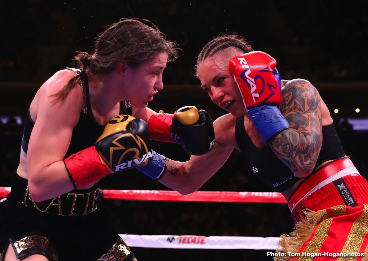 "Katie Taylor Ryan Garcia Saul ""Canelo"" Alvarez Tevin Farmer Boxing News Top Stories Boxing"