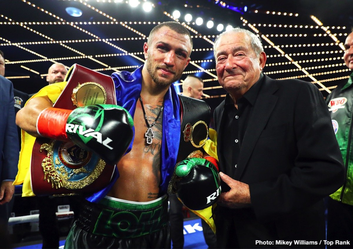 Jose Pedraza - Historic Night for Top Rank on ESPN with Vasiliy Lomachenko Unifying the WBA/WBO Lightweight Titles