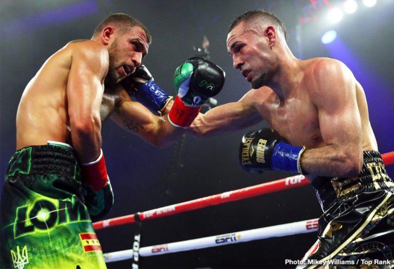 Emanuel Navarrete Isaac Dogboe Jose Pedraza Vasyl Lomachenko Boxing News Boxing Results Top Stories Boxing
