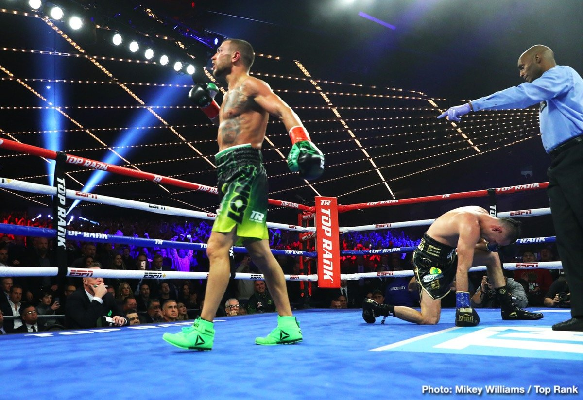 WBA lightweight champion Vasiliy Lomachenko wanted to unify lightweight world titles. After 12 rounds, he got his wish, although WBO champion Jose Pedraza sure didn't make it easy and halted Lomachenko's eight-bout knockout streak in the process.