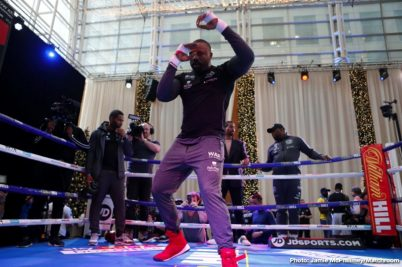 Dereck Chisora Dillian Whyte Boxing News