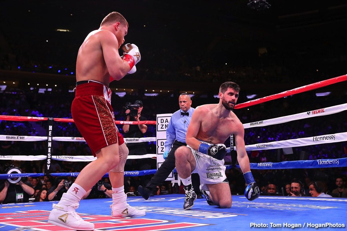 "Rocky Fielding Saul ""Canelo"" Alvarez Boxing News Boxing Results British Boxing"