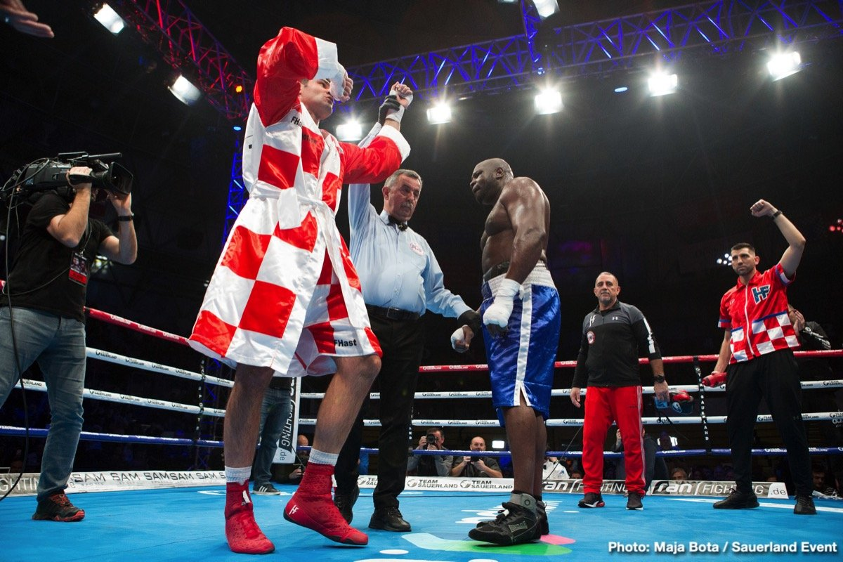 Filip Hrgovic Kevin Johnson Boxing News Boxing Results