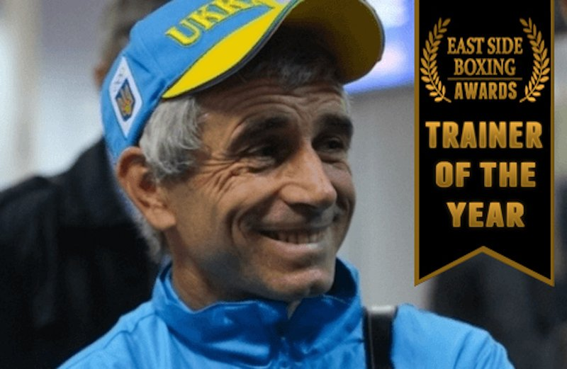 Vasyl Lomachenko - Anatoly Lomachenko is our pick for Trainer of the Year in 2018.Photo © 234Fight