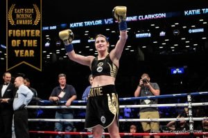 Katie Taylor - World Lightweight Champion Katie Taylor was our pick for 'East Side Boxing' 2018 FEMALE FIGHTER OF THE YEAR.