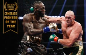 Tyson Fury - Tyson Fury is our pick for East Side Boxing's 2018 Comeback Fighter of the Year - Photos © Esther Lin/SHOWTIME.