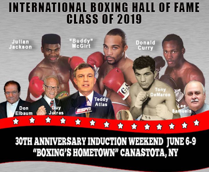 Teddy Atlas - Don Elbaum, Guy Jutras, Lee Samuels & Teddy Atlas among living inductees to also enter Hall of Fame