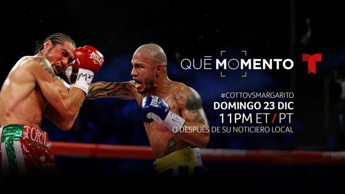"Antonio Margarito - The New Season Debuts on Telemundo this Sunday, December 23 at 11 p.m. ET with a Look Back at the Controversy Behind Three-Time Former Welterweight World Champion Antonio Margarito: The ""Loaded"" Gloves and His Rivalry with Miguel Cotto"