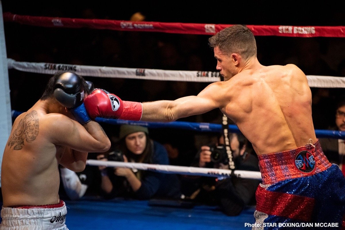 Angel Hernandez Chris Algieri Boxing News Boxing Results