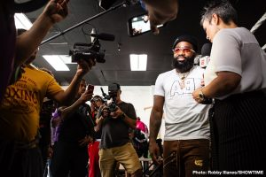 Adrien Broner ANGRY at not getting $10M, says he's a full-time rapper