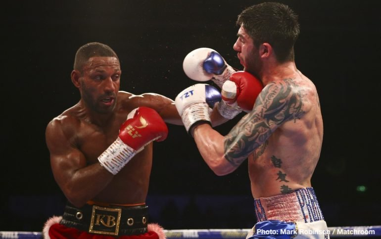 Jarrett Hurd Kell Brook Michael Zerafa Boxing News Boxing Results British Boxing