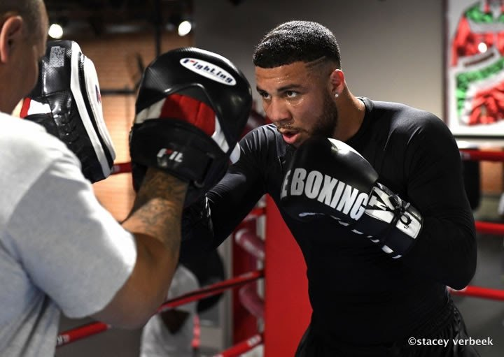 """Samuel Clarkson - Uprising Promotions looks to close out the year in significant fashion on Saturday, as Samuel """"Main Event"""" Clarkson (21-4, 14 KOs) takes on Ryad Merhy (26-1, 21 KOs) at the Spiroudome Arena in Charleroi, Belgium. Hardware will be on the line in the contest, as Clarkson looks to bring home the WBA International Cruiserweight Title."""