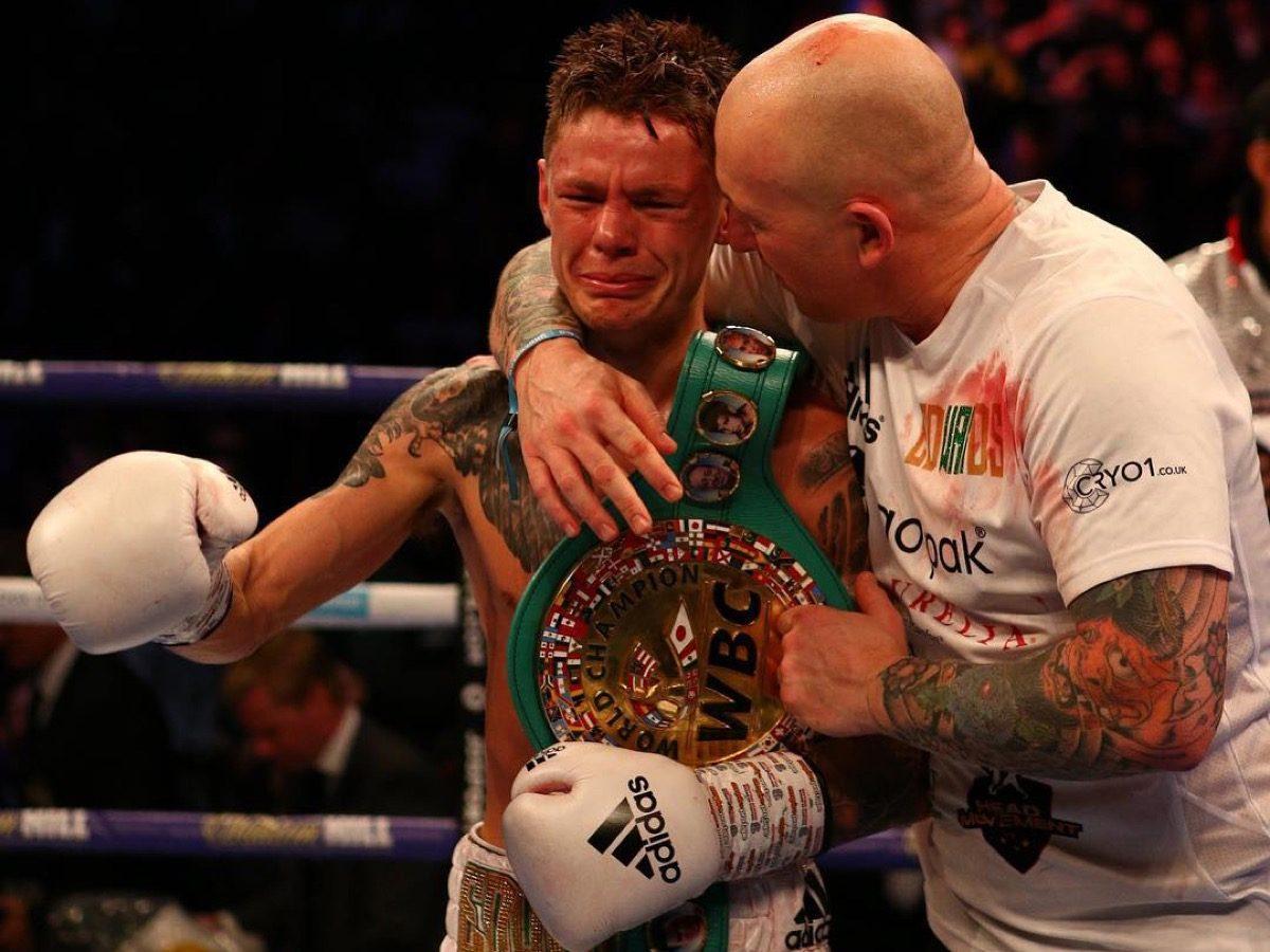 Charlie Edwards Sunny Edwards British Boxing Press Room