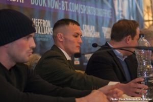 Josh Warrington - A number of British boxers enjoyed a fine 2018, with a few British warriors realizing a life-long dream and becoming world champion. Most recently, at flyweight, Charlie Edwards captured the WBC crown in a genuinely feel-good moment. Callum Smith won a world title at super-middleweight this year, while at featherweight, Josh Warrington captured the IBF title.