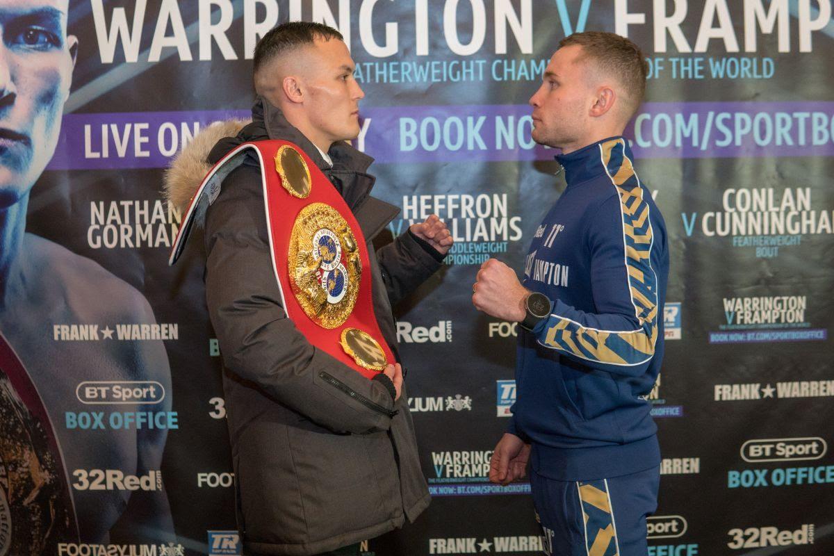 Carl Frampton Josh Warrington Boxing News Boxing Results British Boxing Top Stories Boxing