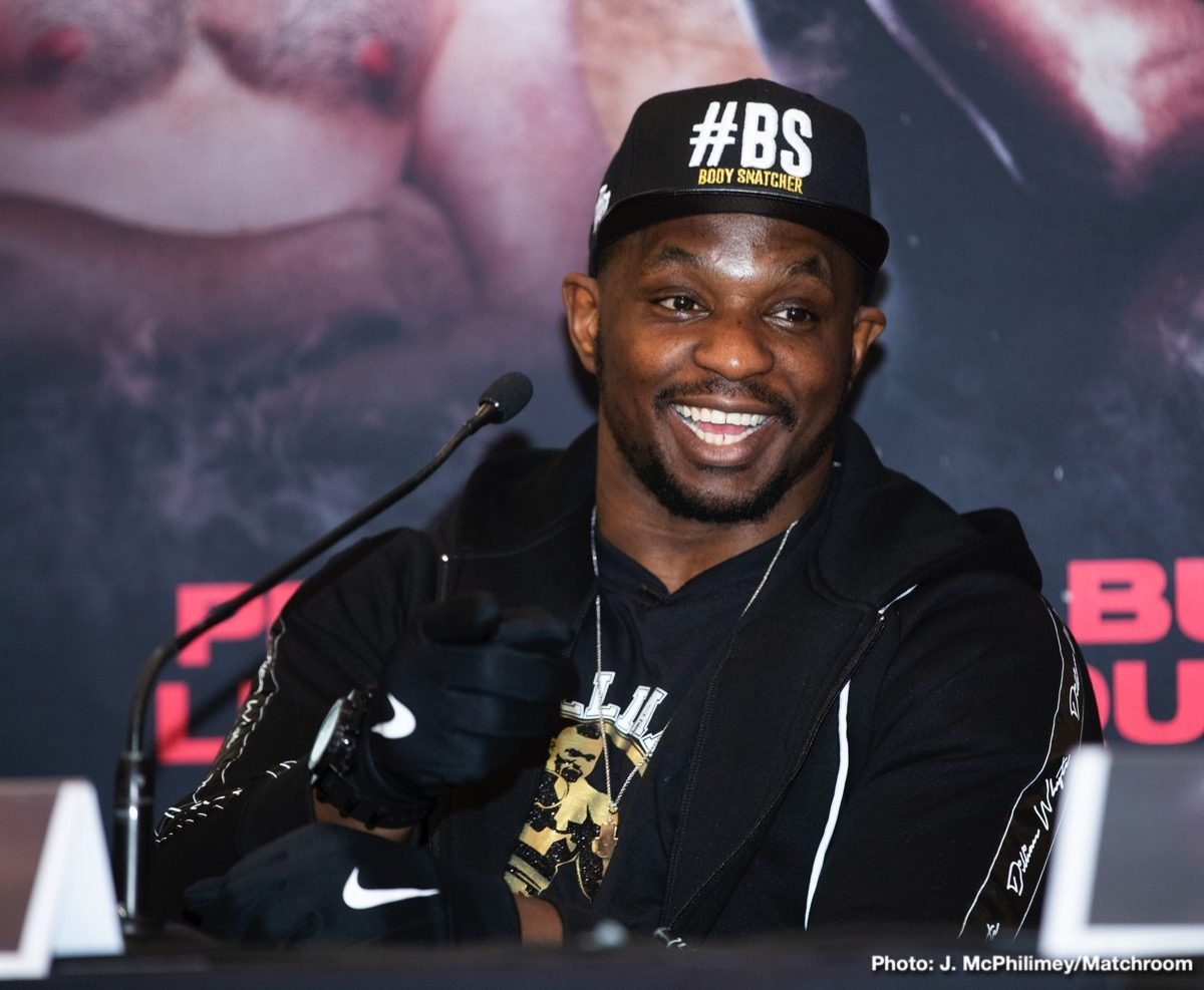 "Anthony Joshua Dillian Whyte Jarrell ""Big Baby"" Miller Boxing News British Boxing"