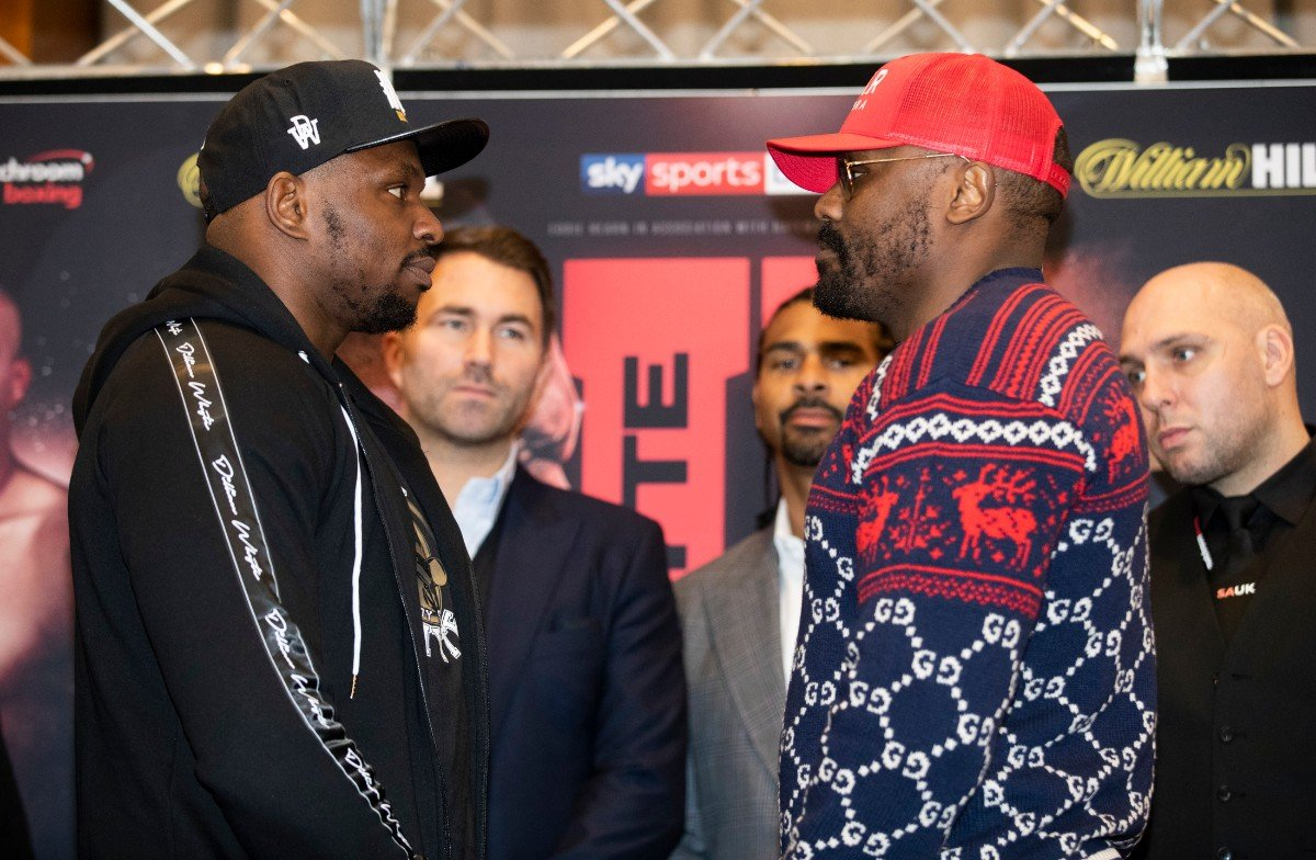 Carl Frampton Dereck Chisora Dillian Whyte Jermall Charlo Jermell Charlo Josh Warrington Boxing News British Boxing Top Stories Boxing