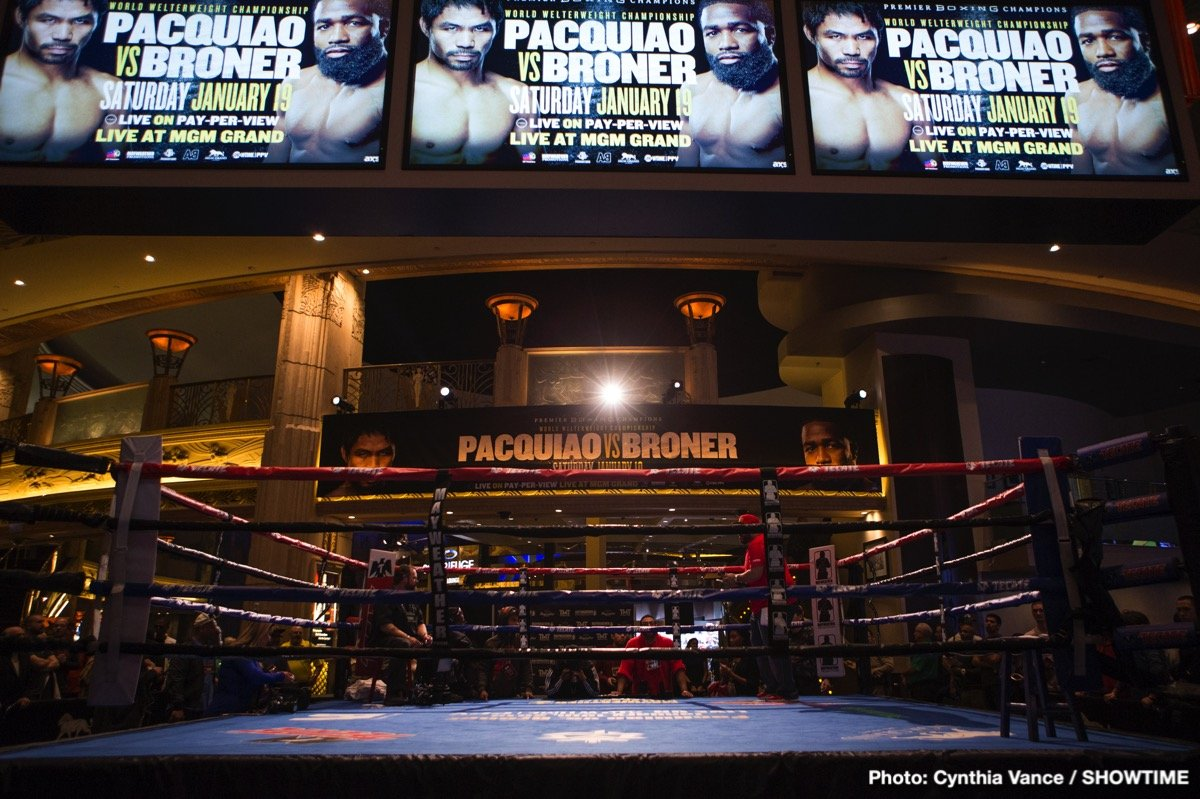 Adrien Broner Badou Jack Manny Pacquiao Marcus Browne Nordine Oubaali Raushee Warren Boxing News