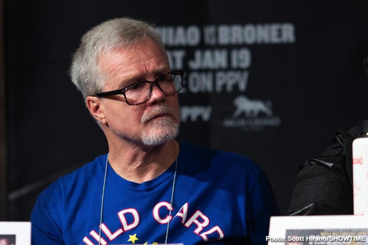 Freddie Roach, Jake Paul - Boxing News