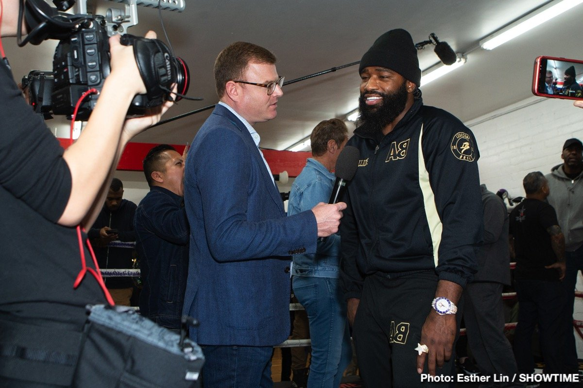 Adrien Broner, Manny Pacquiao - K. Swanson  -  Okay, now we're going to transition over to Adrien Broner. I'd like to introduce Ravone Littlejohn.  He's the CEO of About Billions Promotion and he will make the introduction of Adrien Broner.  Ravone?