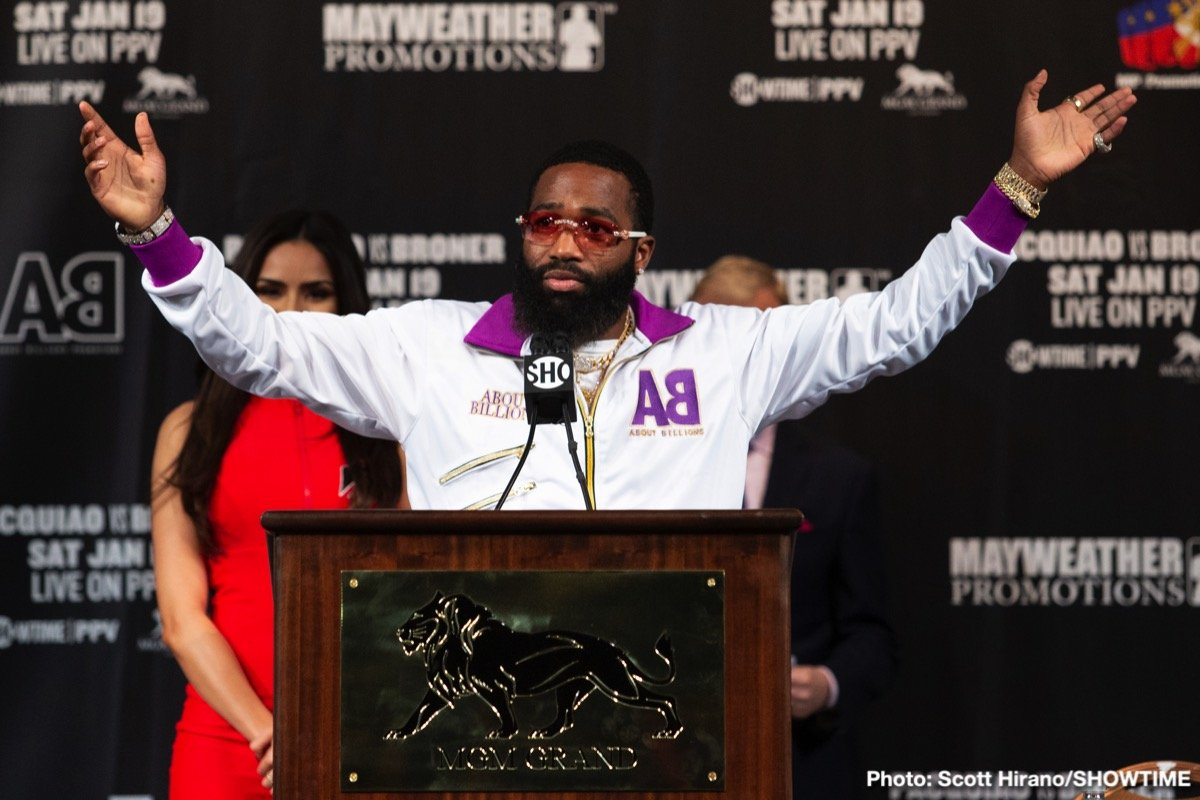 "Adrien Broner - He's at it again. In an effort to gain attention, affection or who knows what else, ""The Problem,"" Adrien Broner (surely the most apt of all current boxing nicknames) has announced his retirement from the sport. Again. It was just over a year ago, back in June of last year to be exact, that Broner announced he was quitting boxing, that it ""was over."""