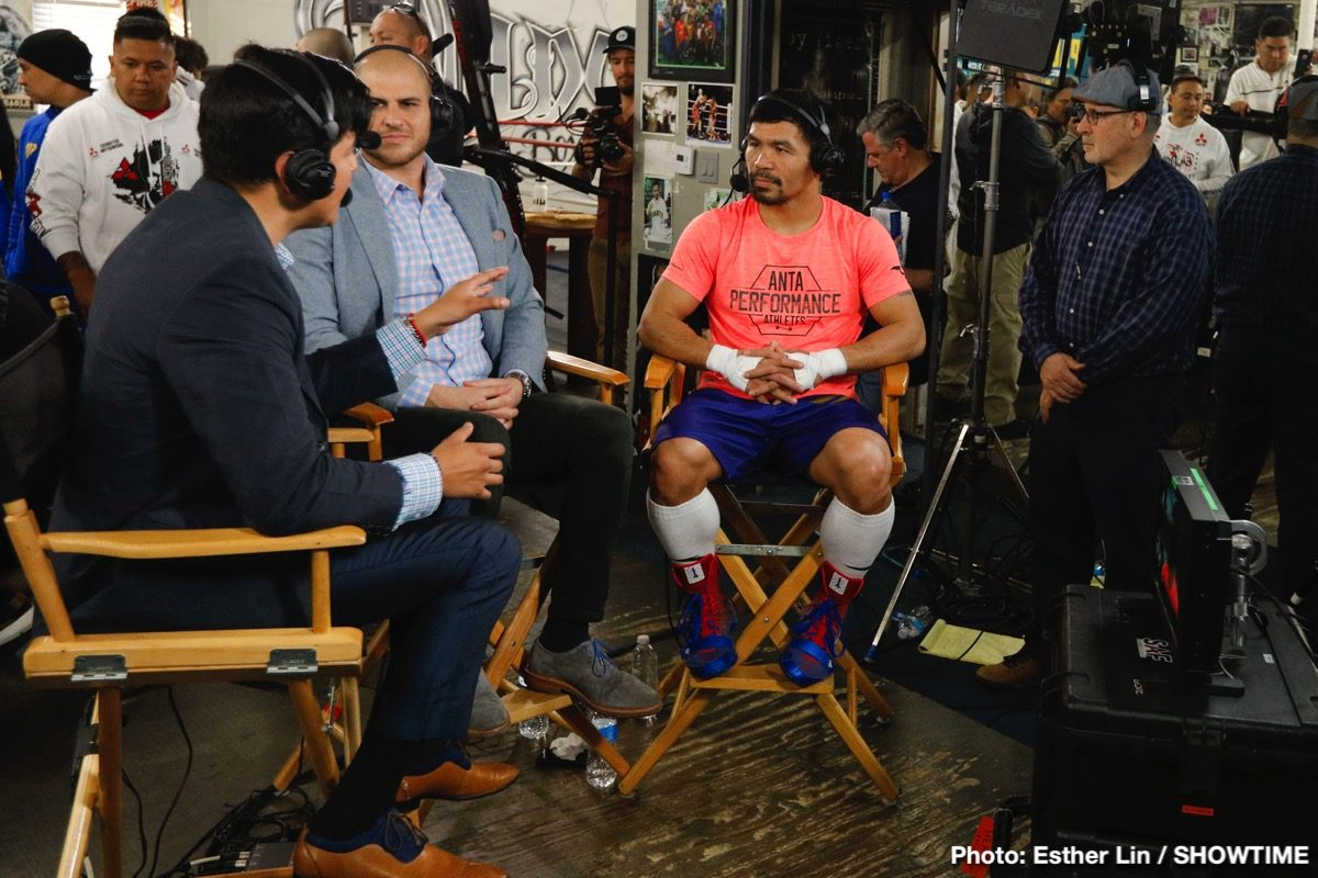 Adrien Broner Manny Pacquiao Boxing Interviews Boxing News