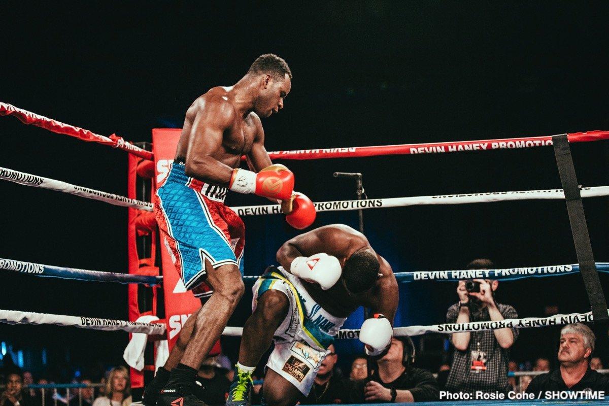 Devin Haney Xolisani Ndongeni Boxing News Boxing Results
