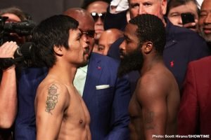 Adrien Broner Insists He Beat Manny Pacquiao, Urges Fans To Go Back And Watch The Tape With No Sound