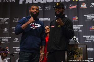 Badou Jack - Before they enter the ring on the undercard of this Saturday's Pacquiao vs. Broner SHOWTIME PPV® event at the MGM Grand Garden Arena, fighters competing in PPV action squared-off against their opponents at the final press conference Thursday in Las Vegas.