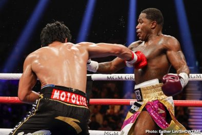 Adrien Broner Badou Jack Hugo Ruiz Manny Pacquiao Marcus Browne Nordine Oubaali Boxing News Boxing Results Top Stories Boxing