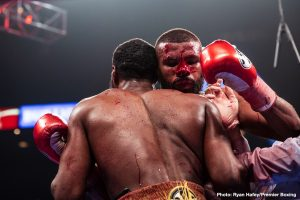 Badou Jack - Light-heavyweight warrior Badou Jack had a very tough, not to mention unlucky, 2019. This past Saturday night, Jack fell short, just, in a thrilling battle with Jean Pascal, losing a split decision that could easily have gone his way. While back in January, in his other fight of the year, Jack suffered THE worst cut you have seen in 2019, or many other years.