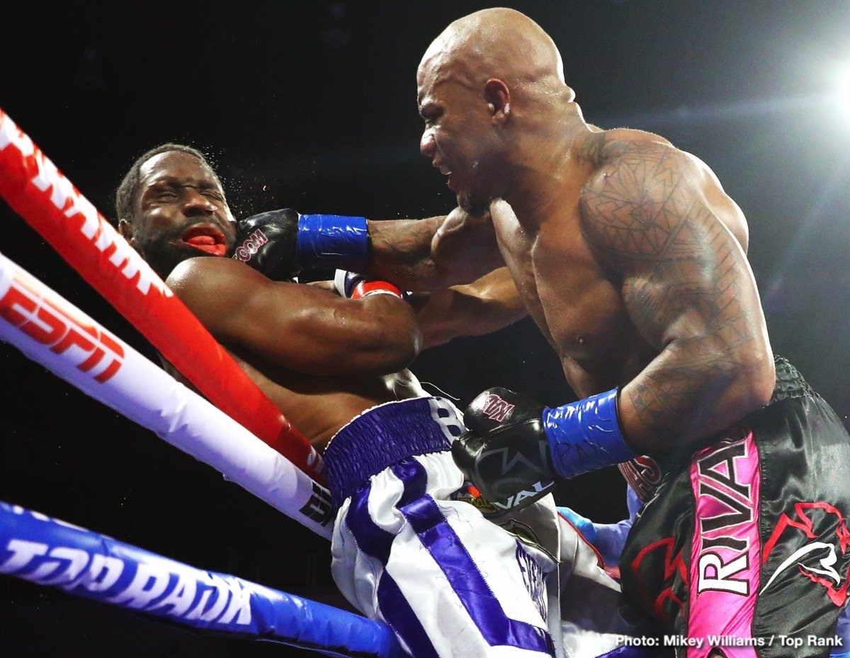 Dillian Whyte, Oscar Rivas - Boxing News