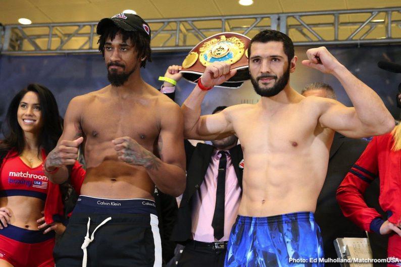 Artur Akavov Chris Algieri Danny Gonzalez Demetrius Andrade Boxing News