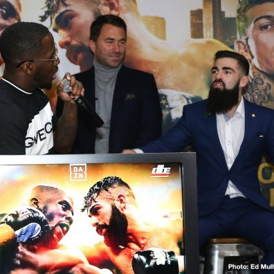 Jono Carroll Tevin Farmer Boxing News