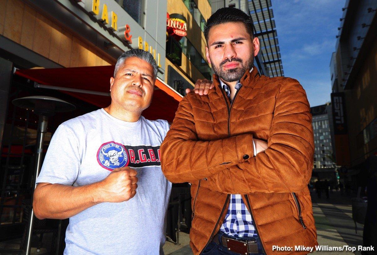 Jose Ramirez - WBC super lightweight world champion Jose Ramirez has a pair of fights this week.