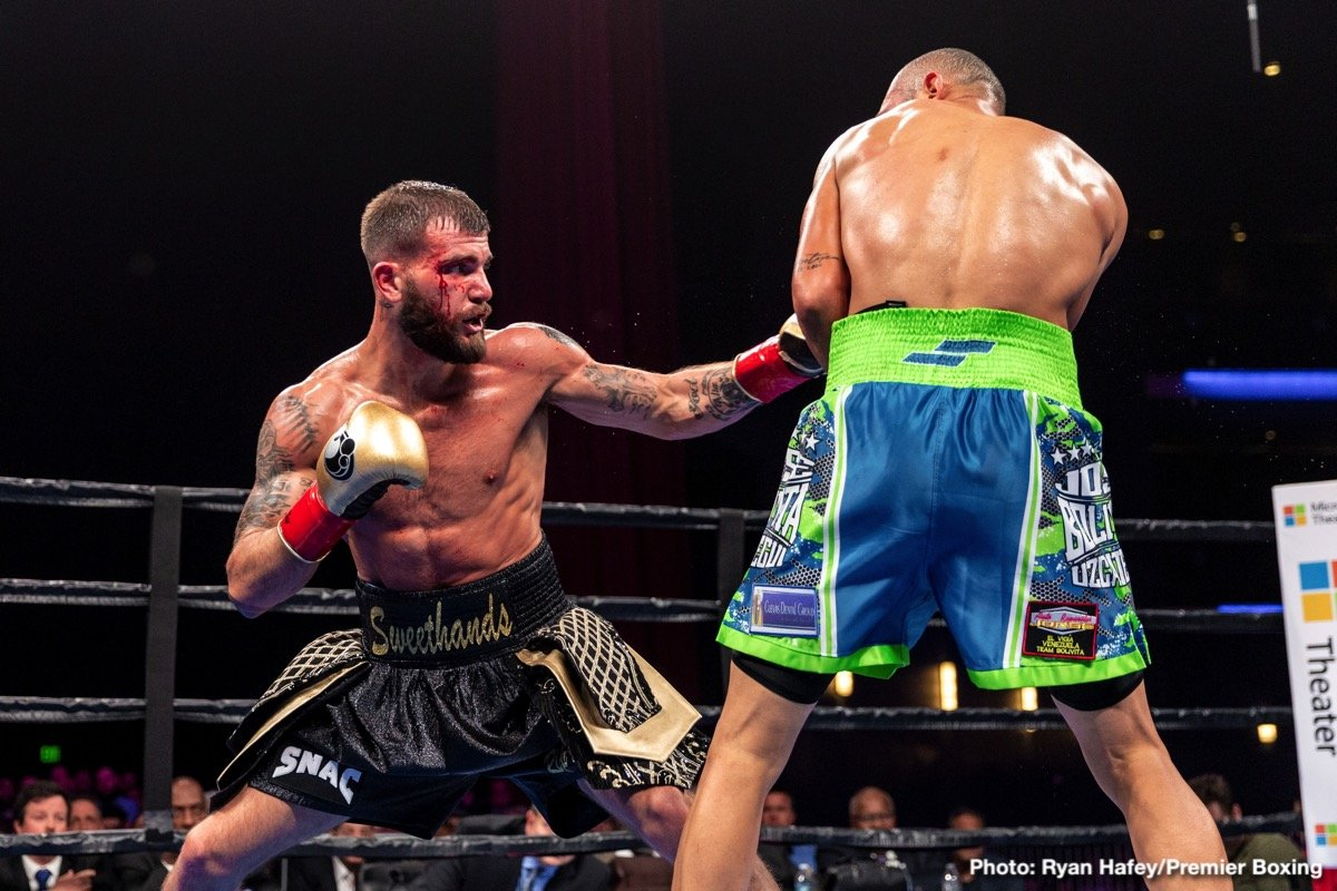 Caleb Plant Giovanni Delgado Jose Uzcategui Boxing News Boxing Results