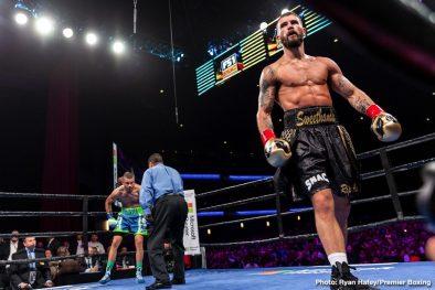 Caleb Plant Jose Uzcategui Boxing News Boxing Results Top Stories Boxing